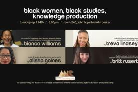 Black Women, Black Studies, Knowledge Production