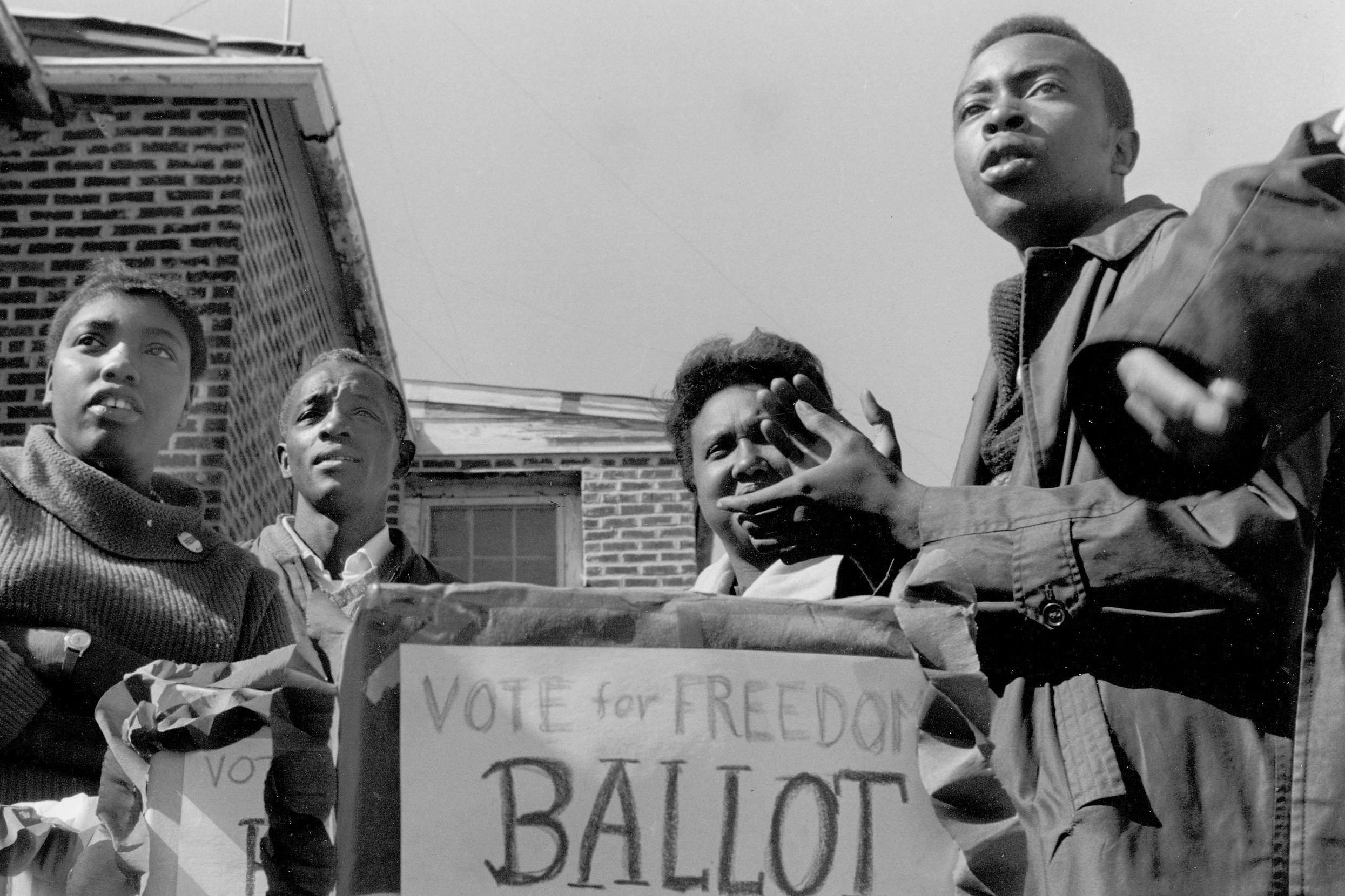 SNCC Exhibit Photo