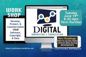 IT Innovation & Translation Workshop, June 19th, Penn Pavilion