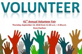 Volunteer Fair Flyer