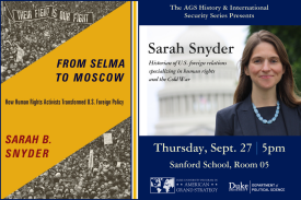 History & International Security Series: Sarah Snyder