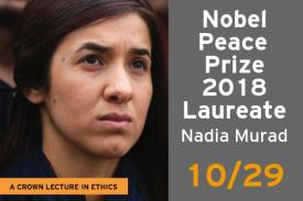 2018 Nobel Peace Prize winner coming to Duke Oct. 29