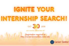Ignite your internship search