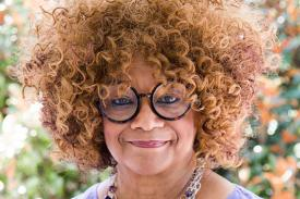 A portrait of Jaki Shelton Green.