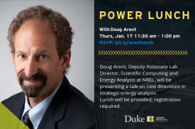 Power Lunch with Doug Arent Thursday Jan 17th 11:30 am - 1 pm