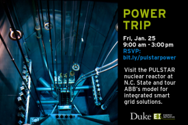 Power Trip: PULSTAR and ABB Friday, Jan 25th 9 am - 3 pm