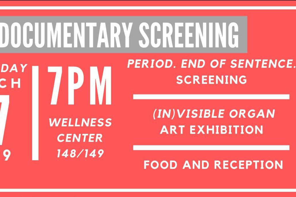 Period. End of sentence. Screening