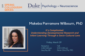 March 29 Psychology & Neuroscience Colloquium