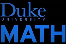 Duke Math Department