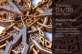 Mandala Creation Workshop Flyer