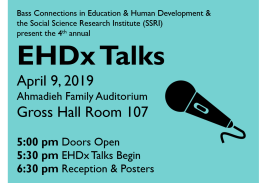 EHDx Talks, April 9