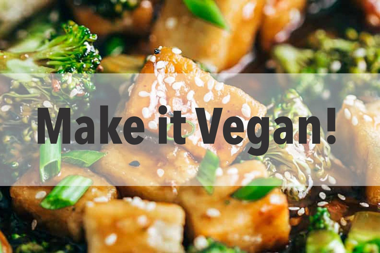 Make it Vegan Cooking Class