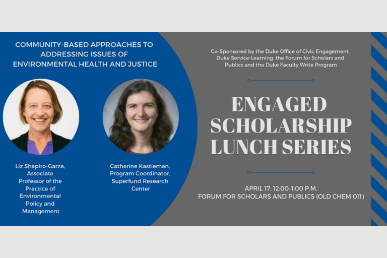 April 17 Engaged Scholarship Lunch Series