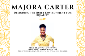 Majora Carter Earth Week Keynote Speaker