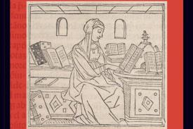 Image of woman reading book