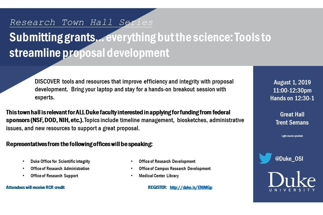 Submitting Grants Flyer