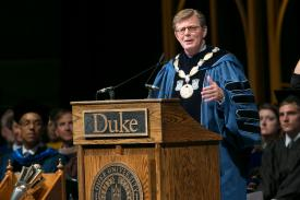 Duke Convocation speaker