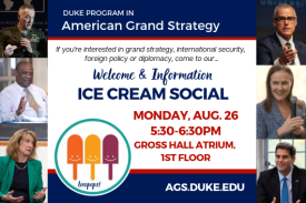 American Grand Strategy's Ice Cream Social