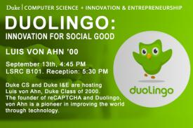 Duolingo-Innovation for Social Good with Luis von Ahn