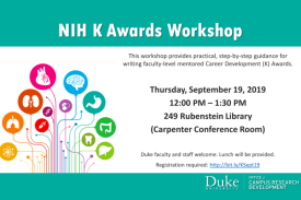 NIH K Awards Workshop
