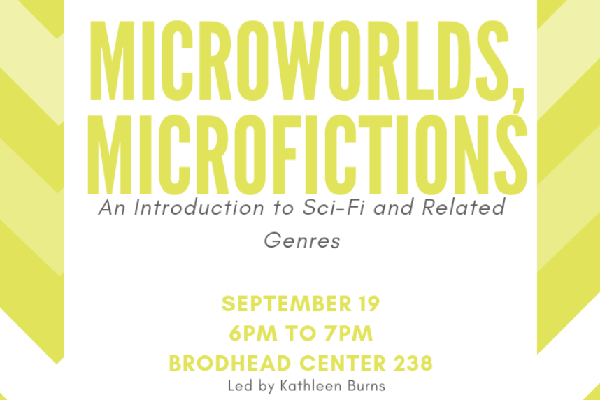 Microworlds, Microfictions: An Introduction to Sci-Fi