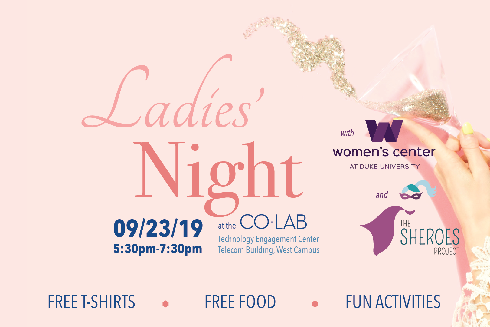 Ladies Night at the Co-Lab - 09/23