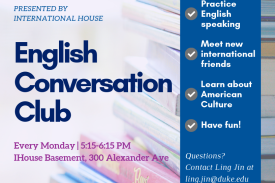 IHouse English Conversation Club