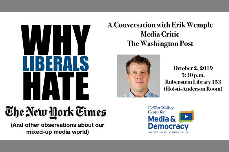 Why Liberals Hate the New York Times with Erik Wemple, Media Critic, The Washington Post