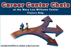 career center chats at the Mary Lou