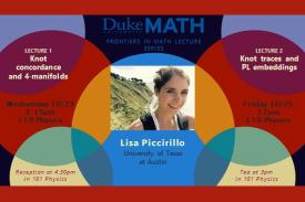 Frontiers in Mathematics Colloquium Lisa Piccirillo