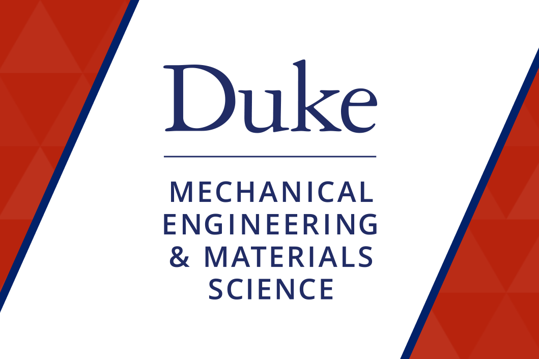 Department of Mechanical Engineering and Materials Science