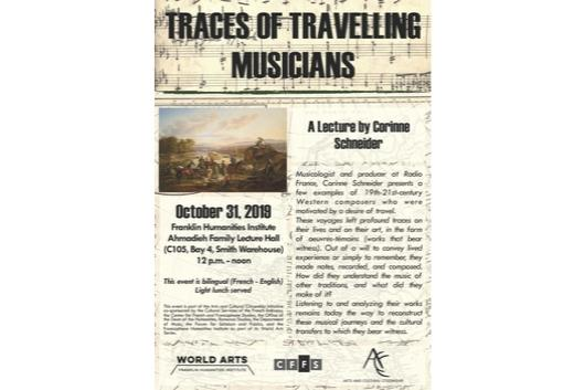 Travelling Musicians Flyer