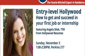 Fannie Mitchell Expert in Residence Angela Silak