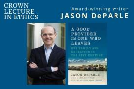 Jason DeParle to give Crown Lecture in Ethics at Duke on Nov. 11