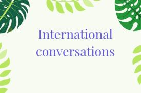 International Conversations Wellness Wednesdays