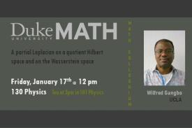 Wilfred Gangbo 1.17.20 @ 12pm in 130 Physics