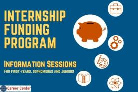 Internship Funding Program Information Session