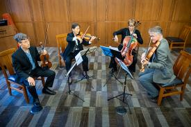 Ciompi Quartet Lunchtime concert by Bill Snead