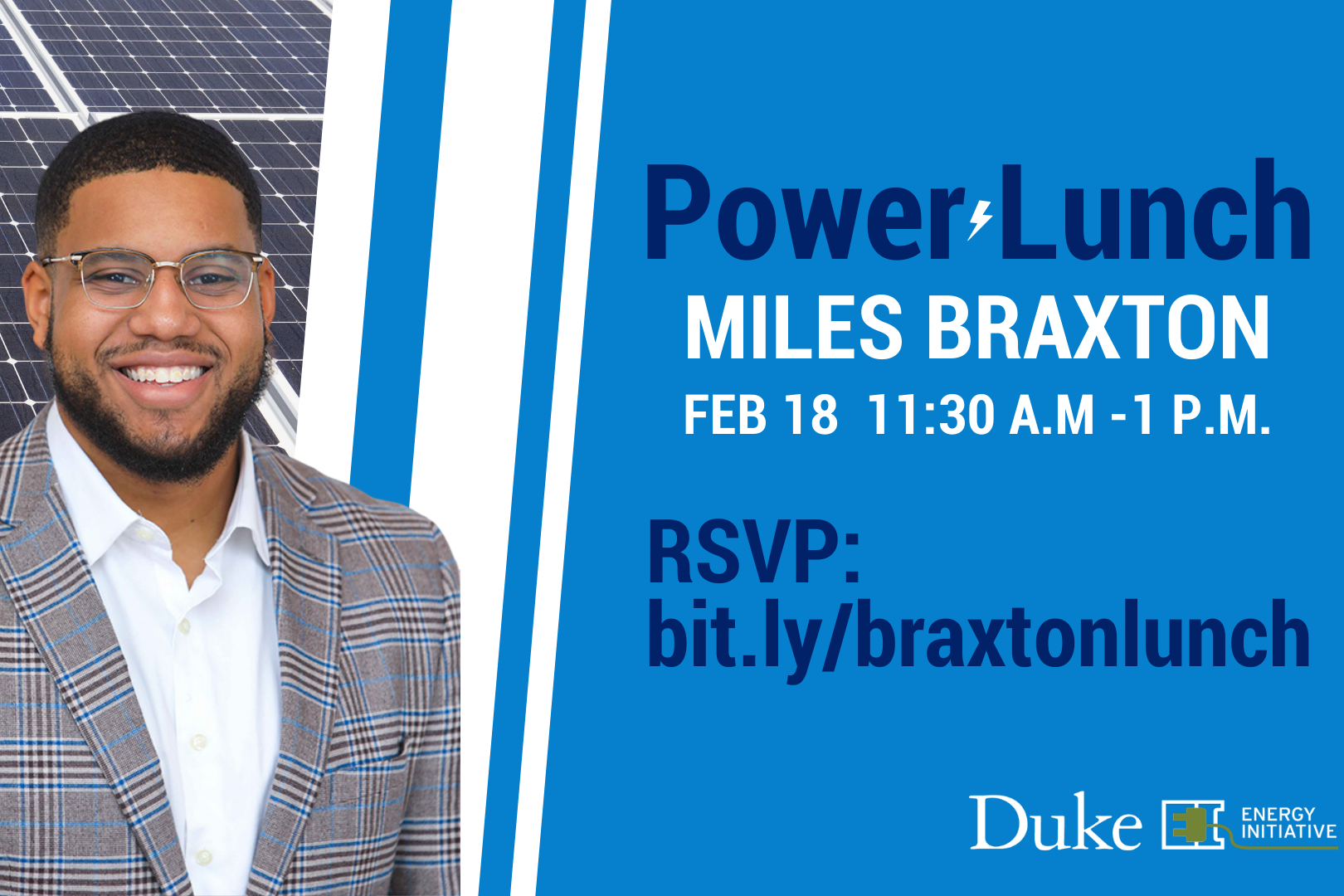Miles Braxton Power Lunch