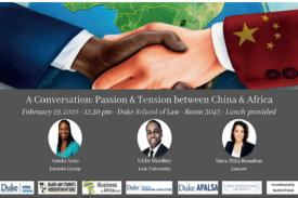 A Conversation: Passion and Tension between China and Africa