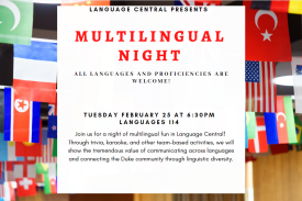 Multilingual Night