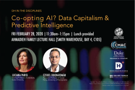 Co-opting AI? Data Capitalism & Predictive Intelligence