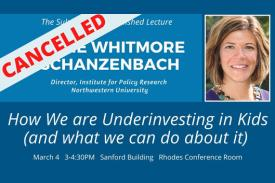 How We Are Underinvesting in Kids, March 4