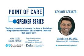 Point of Care Speaker Series