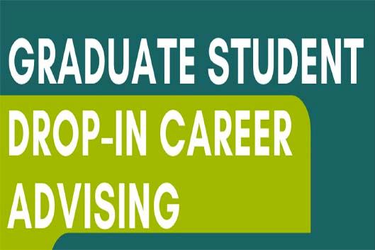 graduate student drop-in career advising