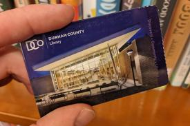 Durham County Library Card