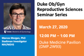 Duke Ob/Gyn Reproductive SciencesSeminar Series