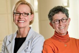 Geraldine Dawson, PhD and Joanne Kurtzberg, MD