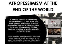 Afropessimism at the End of the World