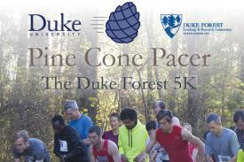 PCP header with runners and Duke Forest and Duke University logos
